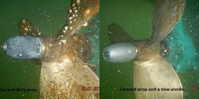 Propeller Cleaning
